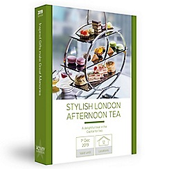 Activity Superstore - Stylish London afternoon tea gift experience for 2