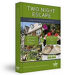 Activity Superstore - Two night escape with tea gift experience