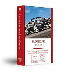 Activity Superstore - Supercar rush gift experience