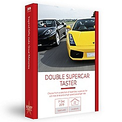 Activity Superstore - Double supercar taster gift experience