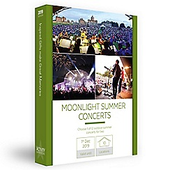 Activity Superstore - Moonlight summer concerts gift experience for 2