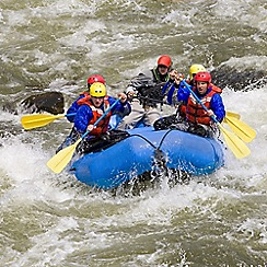 Activity Superstore - White water rafting session gift experience for 2