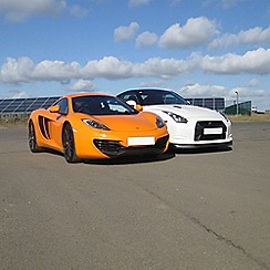 Activity Superstore - Supercar blast and high speed passenger ride gift experience for 2