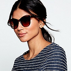 Beach Collection - Brown square sunglasses