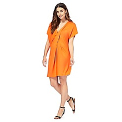 Gorgeous DD+ - Orange jersey twist kaftan