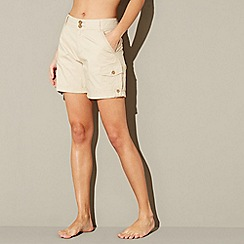 Mantaray - Beige poplin shorts
