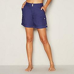 Mantaray - Navy poplin shorts