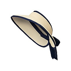 Beach Collection - Natural bow visor