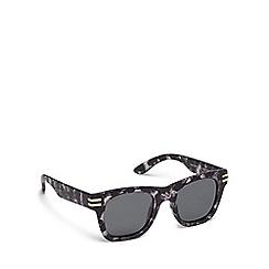 Pilgrim - Grey plastic 'Kennedy' square sunglasses