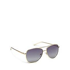 Pilgrim - Gold metal 'Nani' pilot sunglasses