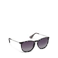 Pilgrim - Grey plastic 'Bree' round sunglasses