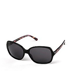 Radley - Ladies black 'Abbie' oversized sunglasses