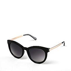Radley - Ladies black 'Edie' cat eye sunglasses