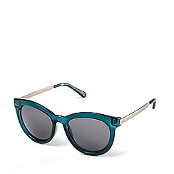 Radley - Ladies blue 'Edie' cat eye sunglasses
