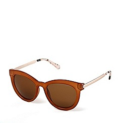 Radley - Brown 'Edie' cat-eye sunglasses