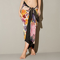 MW by Matthew Williamson - Multi floral print sarong