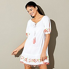 Floozie by Frost French - White embroidered dress