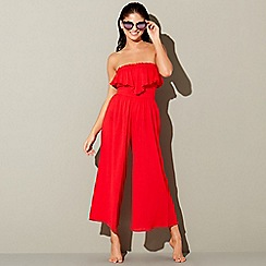 Floozie by Frost French - Red culotte jumpsuit