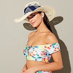 Floozie by Frost French - Natural bandana floppy hat