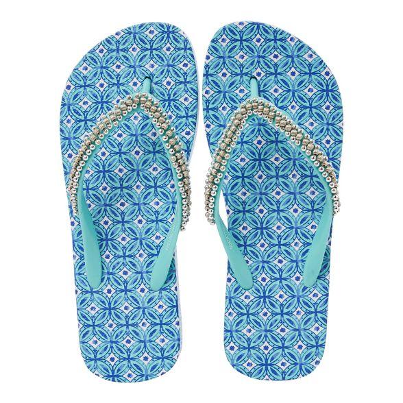 tile flops Sicilian Blue flip Beach Collection tFqwxZ