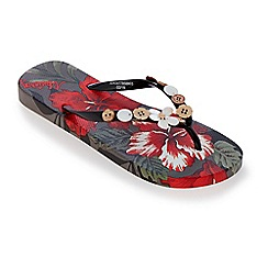 Mantaray - Multi-coloured Wahine flip flops