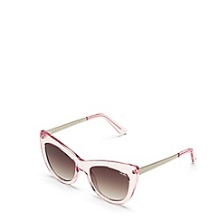 Quay Australia - Pink 'Steal A Kiss' cat eye sunglasses