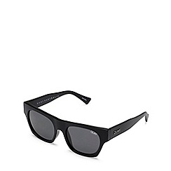 Quay Australia - Black 'Something Extra' square sunglasses