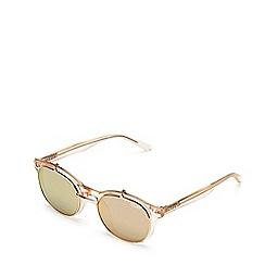Quay Australia - Champagne 'Penny Royal' aviator sunglasses