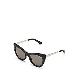 Quay Australia - Black 'Steal A Kiss' cat eye sunglasses