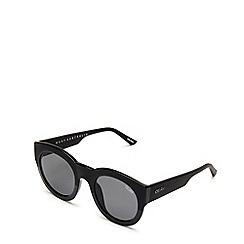 Quay Australia - Black 'If Only' round sunglasses