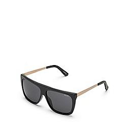 Quay Australia - Black 'OTL II' square sunglasses