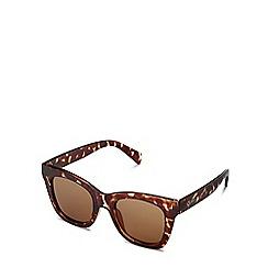 Quay Australia - Brown 'After Hours' square sunglasses