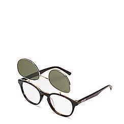 Quay Australia - Brown 'Penny Royal' aviator sunglasses