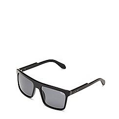 Quay Australia - Black 'Let It Run' square sunglasses