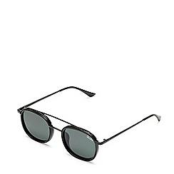 Quay Australia - Black 'Got It Covered' round sunglasses