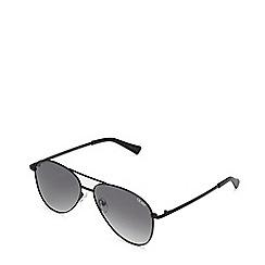 Quay Australia - Black 'Still Standing' aviator sunglasses