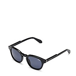 Quay Australia - Black 'Walk On' round sunglasses