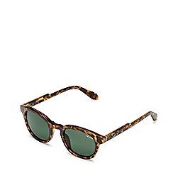 Quay Australia - Brown 'Walk On' round sunglasses