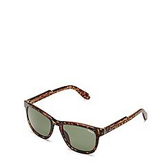Quay Australia - Brown 'Hardwire' wayfarer sunglasses