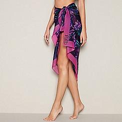 Faith - Multi-coloured tropical print sarong