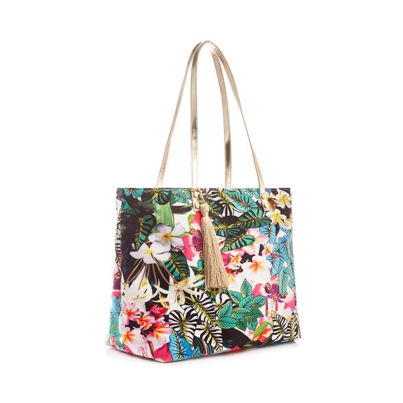 shopper coloured tropical Williamson jungle bag by Multi print Matthew Butterfly 6W1ZP