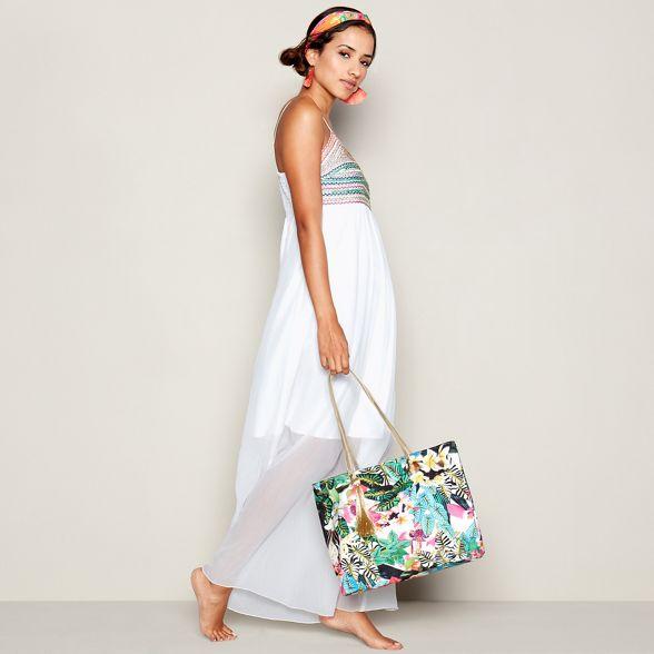 shopper coloured tropical Williamson jungle bag by Multi print Matthew Butterfly 6W1ZP