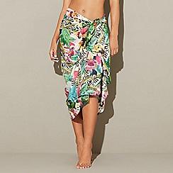 MW by Matthew Williamson - Multi-coloured jungle print sarong
