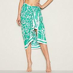 J by Jasper Conran - Green paisley print sarong