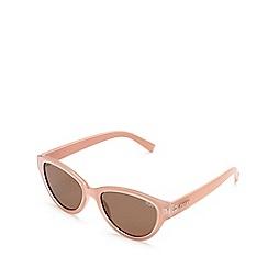 Quay Australia - Pink 'Rizzo' cat eye sunglasses