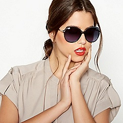 Beach Collection - Blue Oversized Sunglasses
