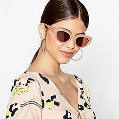 Faith - Light Pink Cat Eye Sunglasses