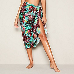 MW by Matthew Williamson - Multicoloured Tropical Print Sarong