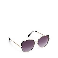 Lipsy - Gold cat eye sunglasses