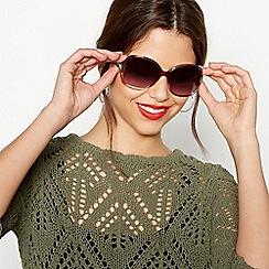 Beach Collection - Multi-coloured oversized sunglasses